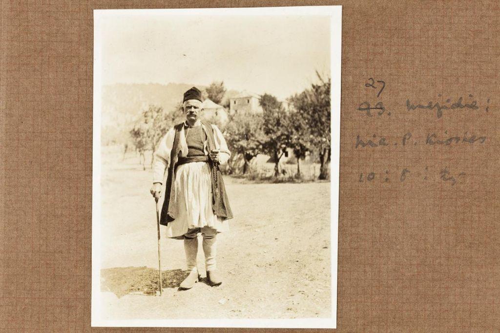 Ο Νικόλαος (Κόλα) Κιόσσης, photo Margaret Hasluck