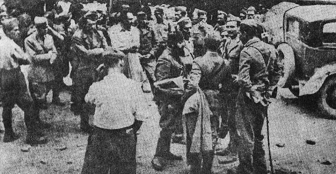 Η παράδοση της Μεραρχίας Πινερόλο στα Τρίκαλα