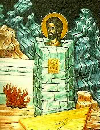 Ο Άγιος Δημήτριος εκ Σαμαρρίνης