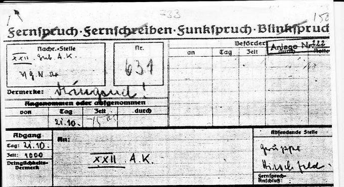 Η Αντίσταση στο Περιβόλι. 21-25/10/1943
