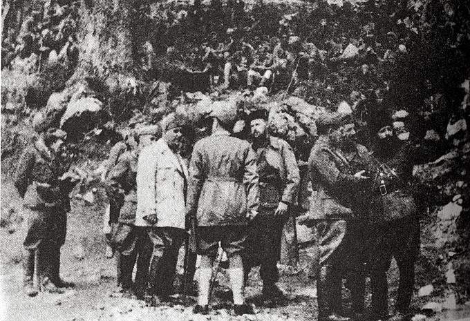 Λίγες μέρες μετά την παράδοση της μεραρχίας Pinerolo