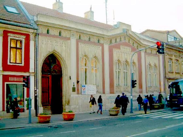 Αρχοντικό Σπίρτα στο Ζέμουν - Βελιγράδι